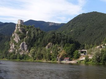 Ruiny zamku Strečno