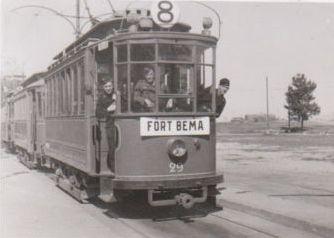 Tramwaj - Fort Bema