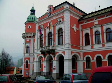 Rużomberk, w centrum miasta