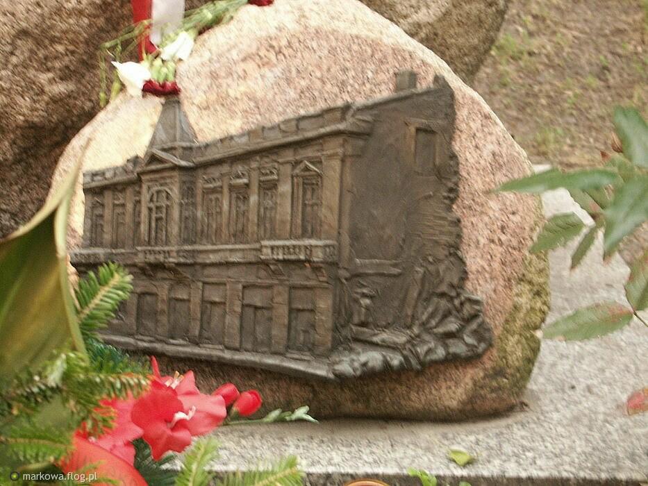 Pałacyk Michla.Tablica