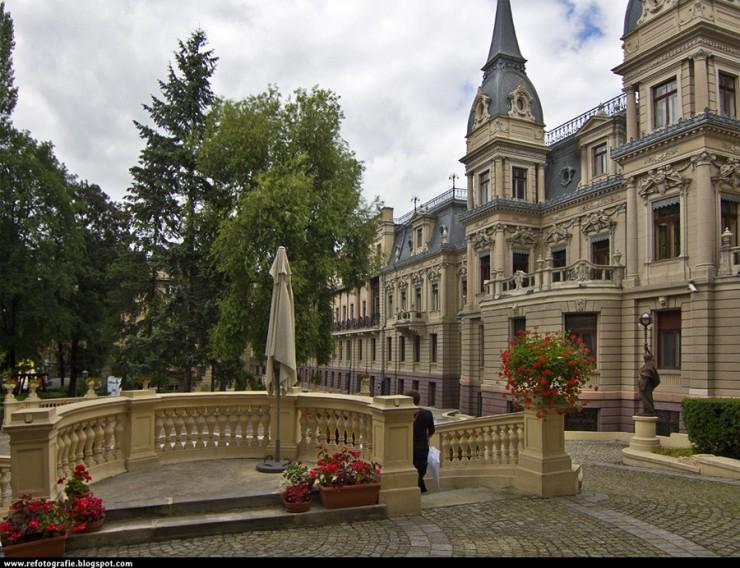Pałac Poznańskiego od strony ogrodu