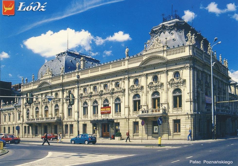 Łódź. Pałac Poznańskiego