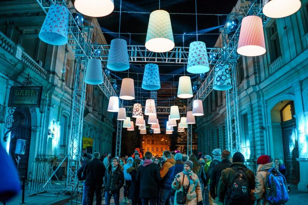 Łódź. Festiwal Światła