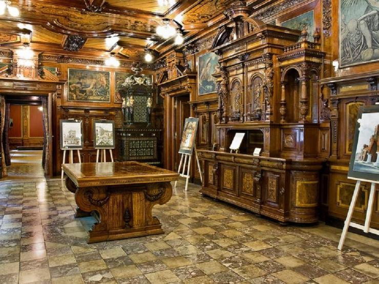 Wnętrza pałacu Scheiblera