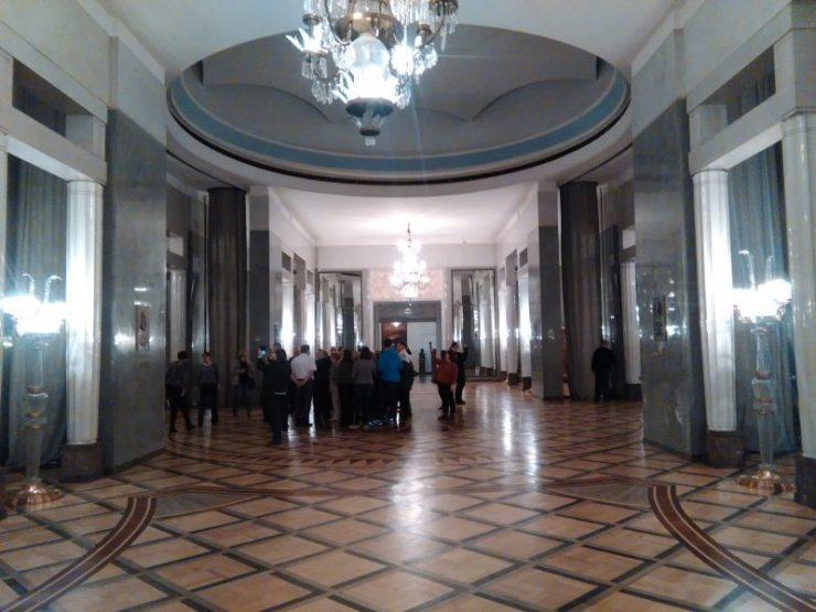 Klub Globtrotera w kuluarach Teatru Wielkiego. Foto: Liliana Kołłątaj