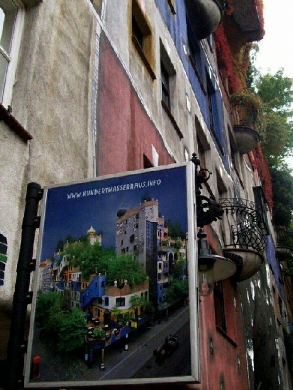 Wiedeń. Hundertwasserhaus. Foto: Liliana Kołłątaj