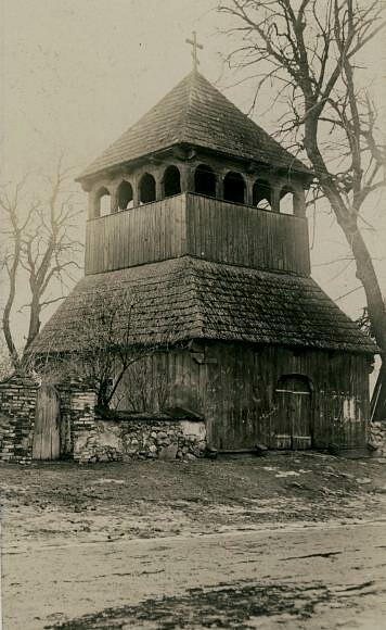 Podlasie. Kleszczele. Dzwonnica cerkwi św.Jerzego