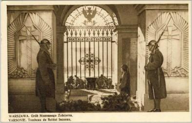 Grób Nieznanego Żołnierza w latach międzywojennych. Foto: NAC
