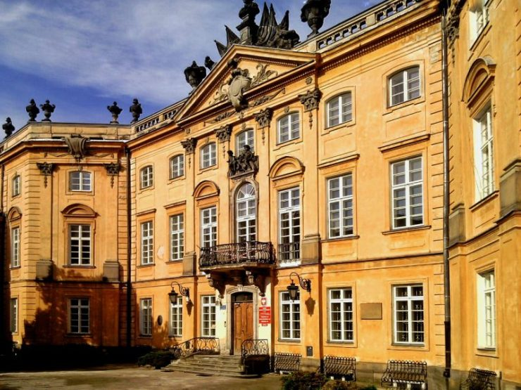Dawny pałac Sapiehów. Foto: Liliana Kołłątaj