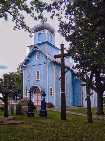 Cerkiew w Dubiczach Cerkiewnych. Foto: Liliana Kołłątaj