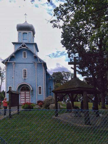 Dubicze Cerkiewne. Cerkiew Opieki Matki Bożej. Foto: Liliana Kołłątaj