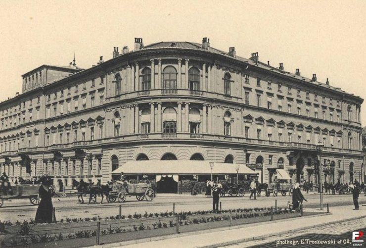 Hotel Europejski pod koniec XIX w. Foto: Fotopolska.pl