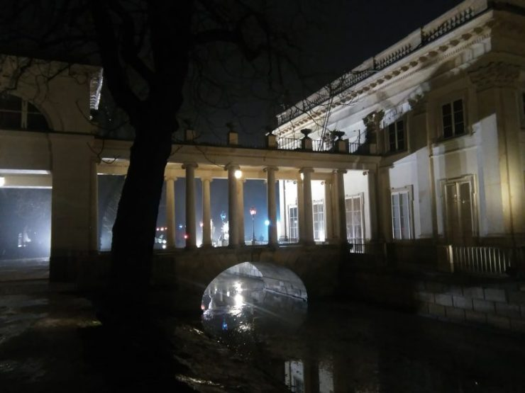 Zimowy Wieczór Światła w Łazienkach. Foto: Liliana Kołłątaj