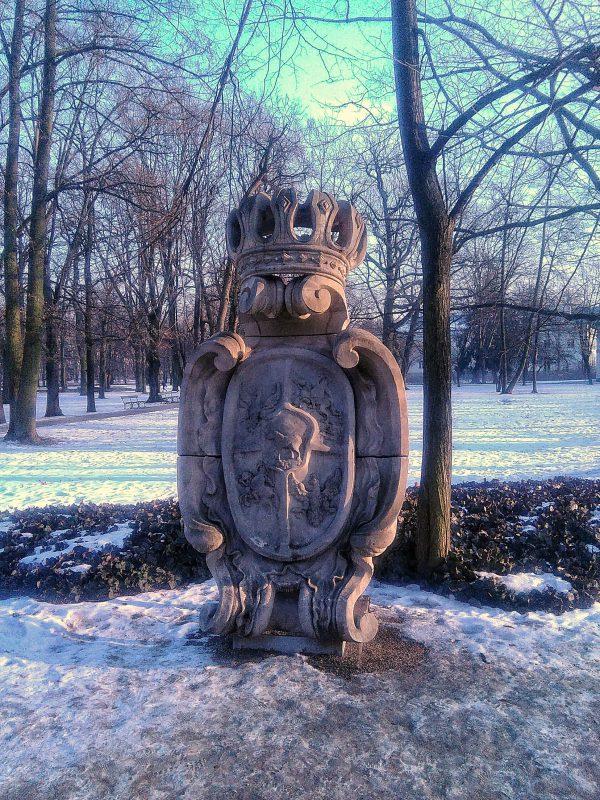 Kartusz królewski w Łazienkach. Foto: Liliana Kołłątaj