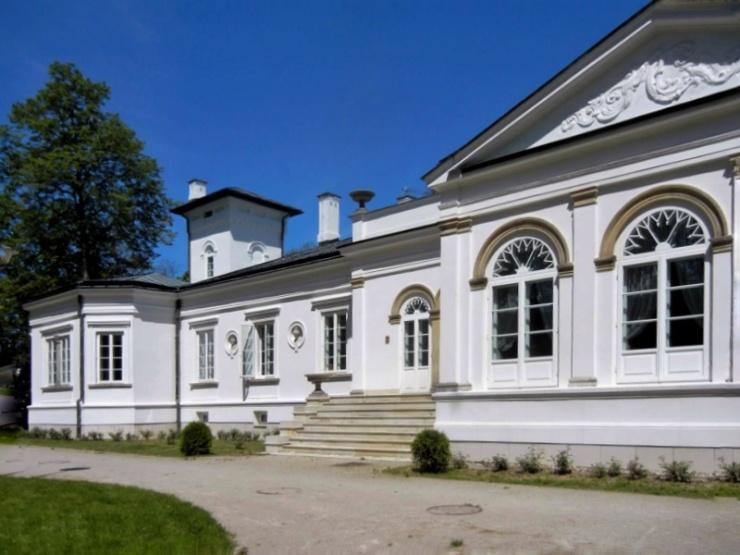Orońsko. Pałacyk Józefa Brandta