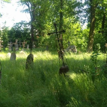 Cmentarz prawosławny w Stanisławowie. Foto: Liliana Kołłątaj