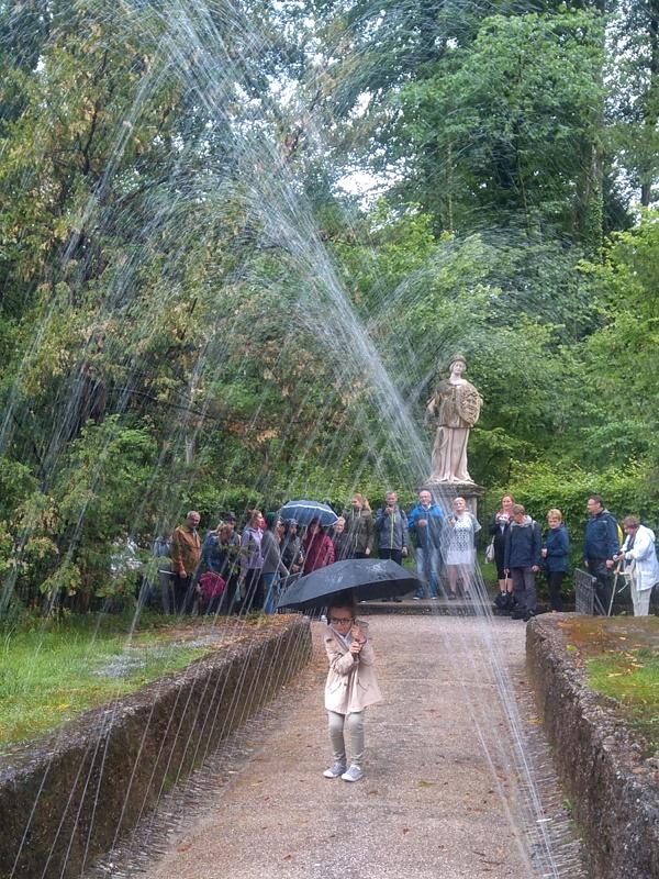 HELLBRUNN. Ogród Wodnych Niespodzianek. Foto:Liliana Kołłątaj