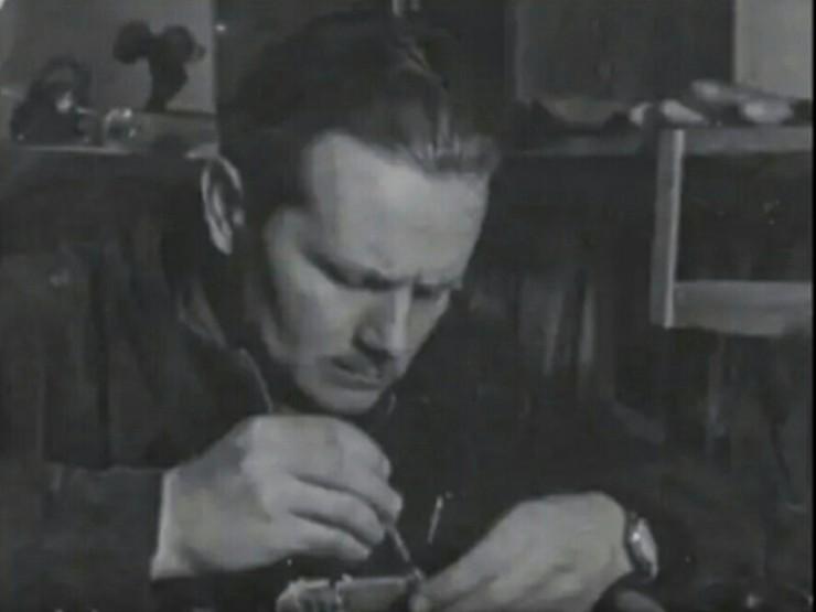 """STANISŁAW RODOWICZ. Kadr z filmu """"Stanisław Rodowicz"""" opublikowanego na YouTube"""