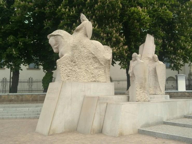 Pomnik Bolesława Krzywoustego na Placu Książęcym w Płocku. Foto: Liliana Kołłątaj