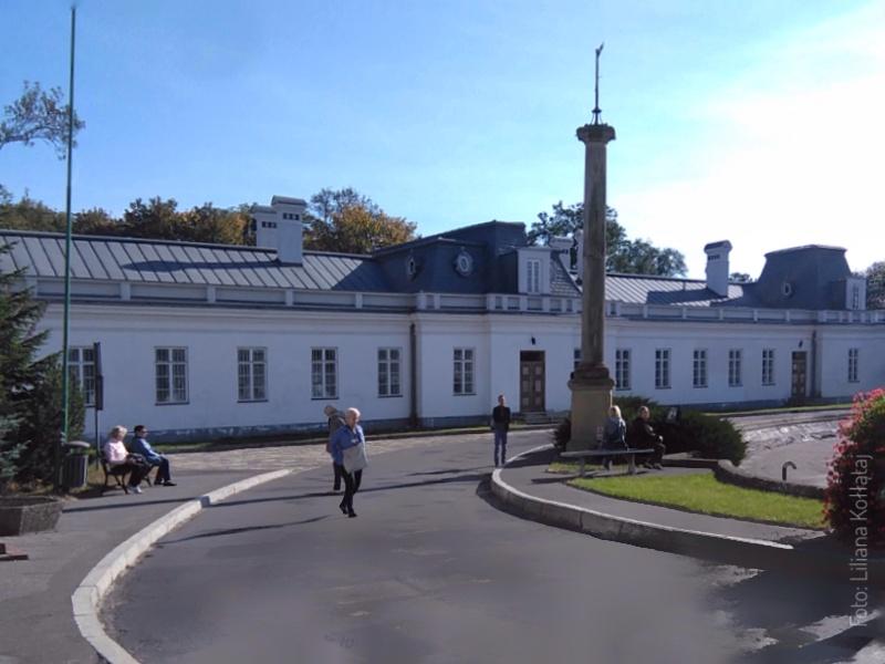 Kozienice. Pałac - Urząd Skarbowy.