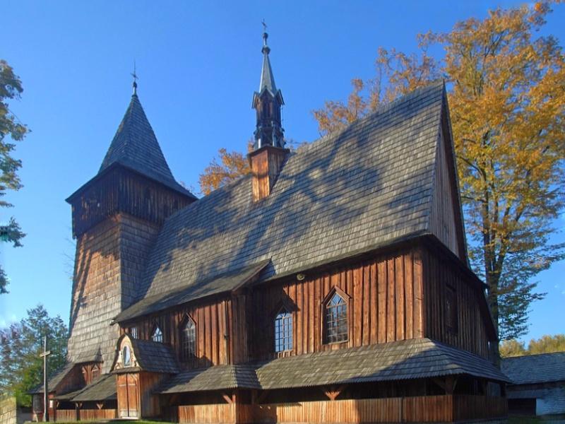 Harklowa,kościół Narodzenia Najświętszej Marii Panny