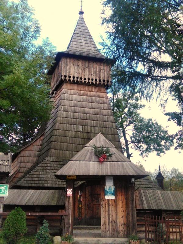 Kościół drewniany w Dębnie Podhalańskim