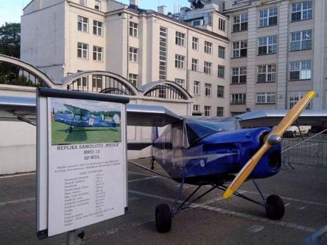 Replika RWD-13 samolotu firmowego Wedla