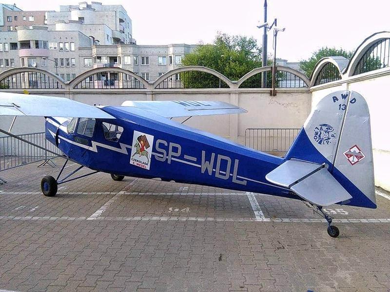 Replika samolotu firmowego Wedla