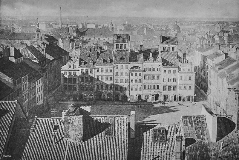 Rynek Starego Miasta po roku 1928. Foto: Jan Bułhak