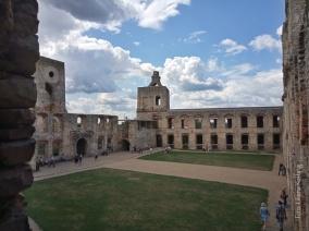 Zamek Krzyżtopór. Dziedziniec
