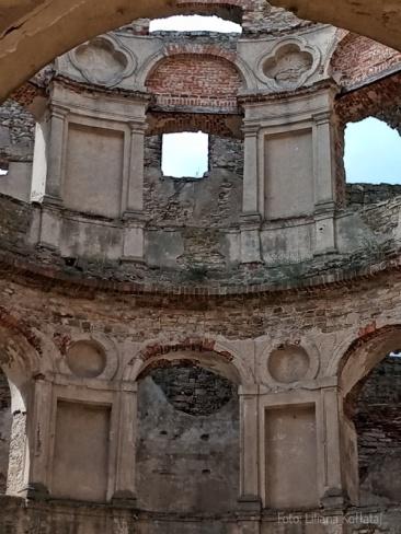 Zamek Krzyżtopór. Fragment sali jadalnej