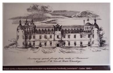 Baranów Sandomierski, XIX w