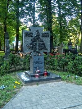Warszawa Wola. Cmentarz prawosławny. Pomnik ofiar Wielkiego Głodu