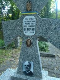 Warszawa Wola. Cmentarz prawosławny. Kwatera UNR