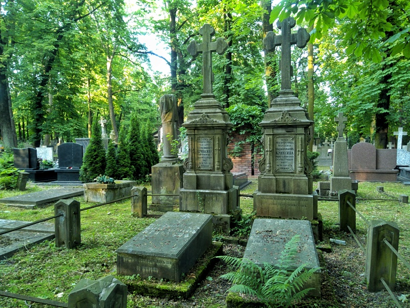Warszawa Wola. Cmentarz prawosławny