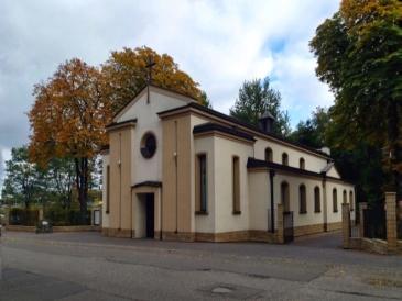 Kościół św.Jozafata, przy terenie Fortu Bema
